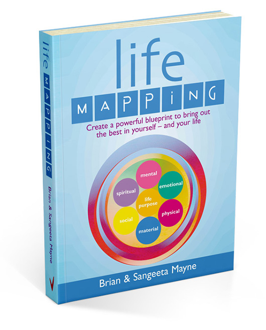 Brian and Sangeeta Mayne's Life Mapping book