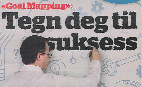 Finnish newspaper headline about Goal Mapping