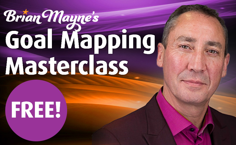 Brian Mayne's Goal Mapping Masterclass